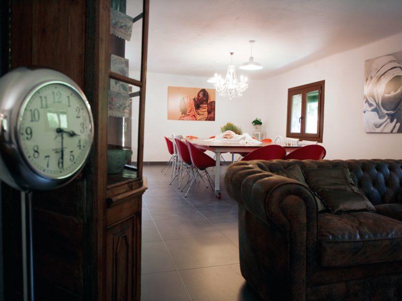 sala menjador amplia i espaiosa