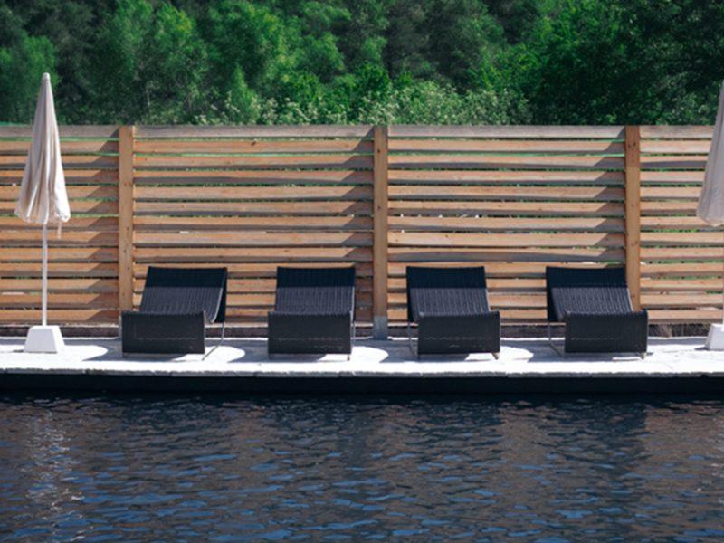 piscina privada a la casa dels peixos